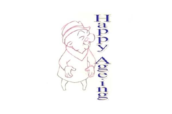 happy ageing logo
