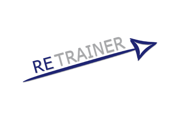 retrainer logo