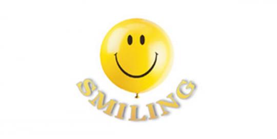 smiling logo