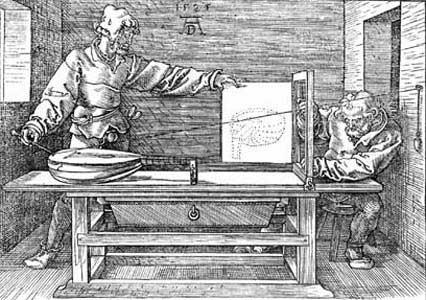 Albrecht Durer Underweysung der Messung 1525